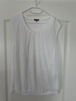 Street One Camisa con cuello caído blanco