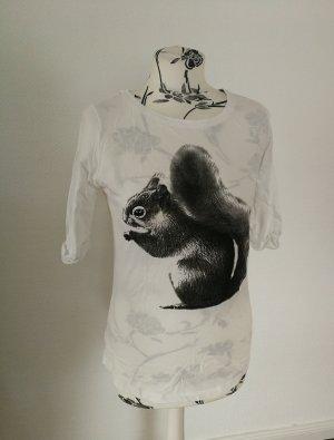 Armedangels Koszulka basic czarny-biały