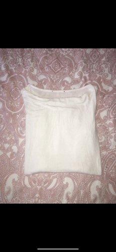 Weißes Shirt langarm