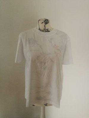 armedangels T-Shirt white-brown