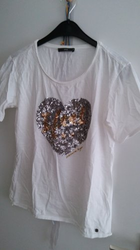 Brax T-shirt bianco Cotone