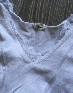 Pimkie Koszulka z dekoltem w kształcie litery V biały