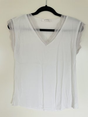 Weißes Shirt Promode 34