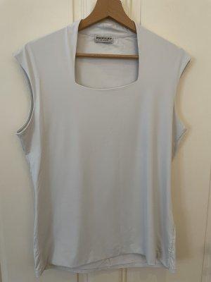 Repeat T-shirt bianco
