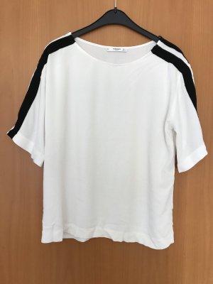 Weißes Shirt von Mango Gr. S