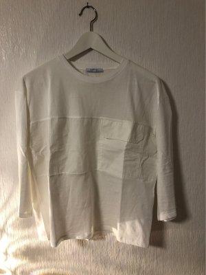 weißes Shirt von Zara Basic