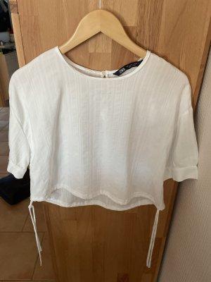 Weißes Shirt von Zara Gr. S