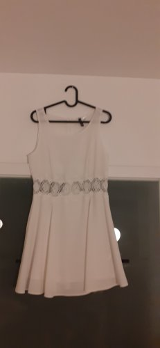 H&M Divided Abito in pizzo bianco