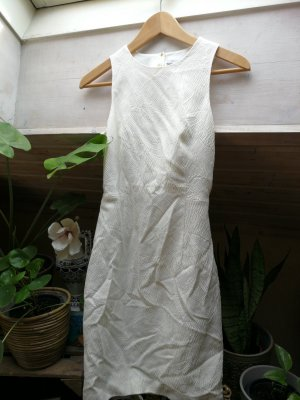 Woman for H&M Cut Out Dress white