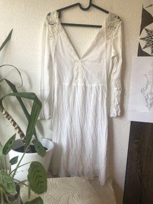 New Yorker Robe Hippie blanc