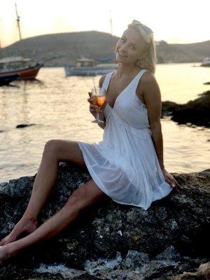 Weißes Sommerkleid Free People Xs 34 Hippie Damen Kleid