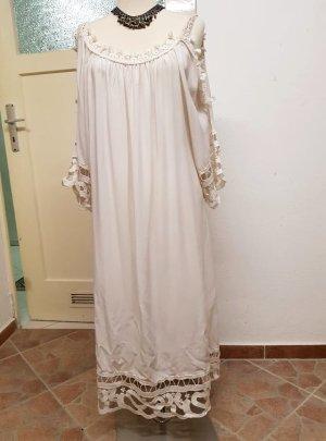 Weißes Sommerkleid Größe 38/40