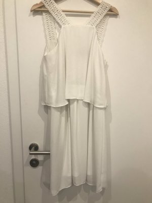 Atmosphere Robe en dentelle blanc