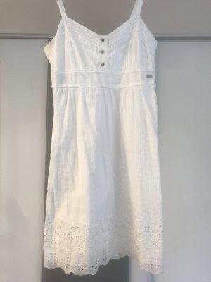 Weißes Sommerkleid von Tom Tailor in Gr.36