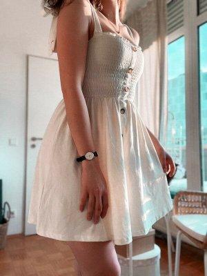 Weißes Sommerkleidchen von PAMxNAKD