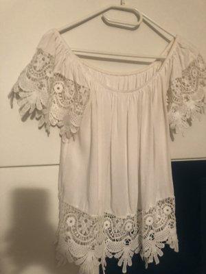Weißes sommershirt