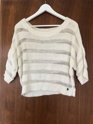 Weißes Sommershirt/ Pullover  von Tom Tailor XS