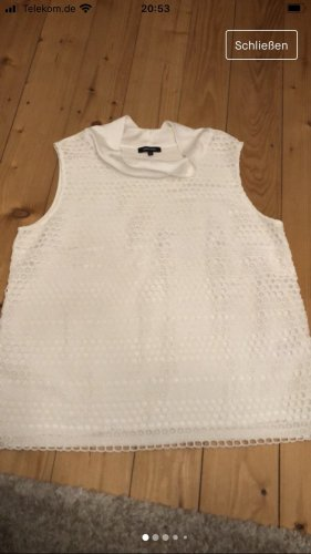 More & More Neckholder Top white