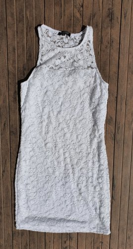CHEROKEE Lace Dress white
