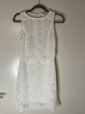 Miss Selfridge Lace Dress white-natural white