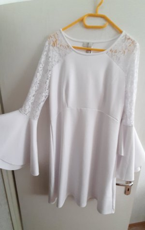 Lace Dress white