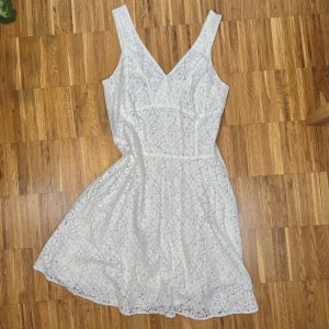 Cinque Vestido de encaje blanco