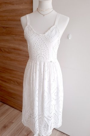 Rich & Royal Sukienka midi biały