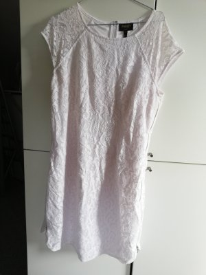 Laundry by Shelli Segal Vestido de encaje blanco