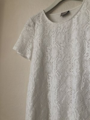 Vero Moda Kanten jurk wit