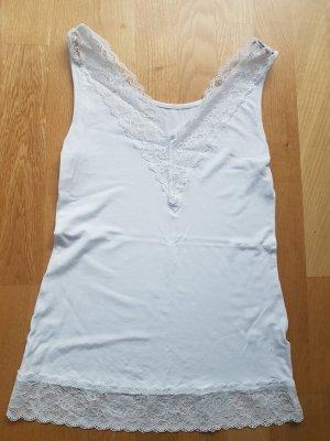 Tezenis Top di merletto bianco