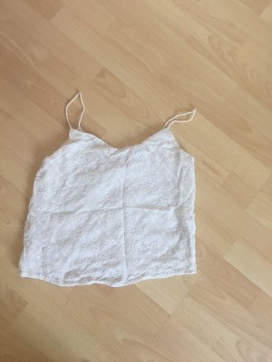 Mango Off-The-Shoulder Top white