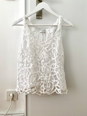Gilly Hicks Lace Top white