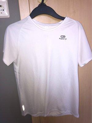 Weißes Sportshirt