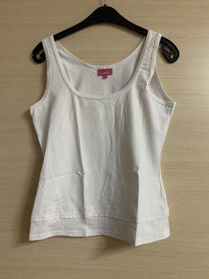 Venice beach Koszulka sportowa w kolorze białej wełny