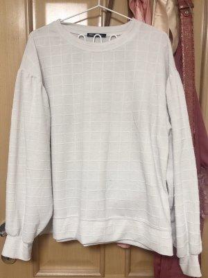 Weißes Sweater shirt