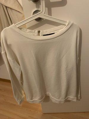 weisses Sweatshirt