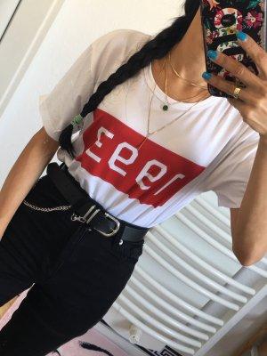 Weißes T-Shirt 1993    Neu Gr:L/entspricht XS