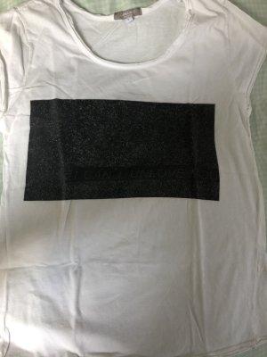 Carina Ricci T-shirt bianco-nero