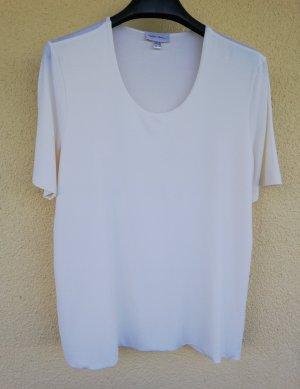 weißes T-Shirt aus Viskosestretch von Madeleine