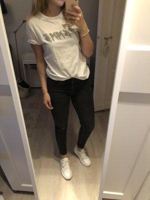 """Weißes T-Shirt """"Femme"""""""