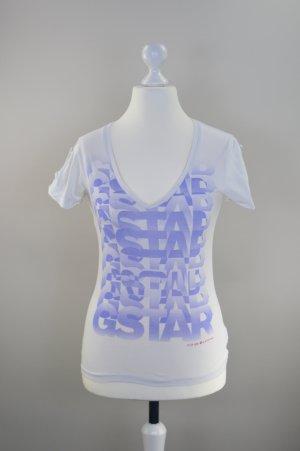 Weißes T-Shirt G-Star Größe S