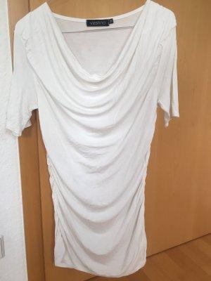 Vestino Koszulka z dekoltem woda biały