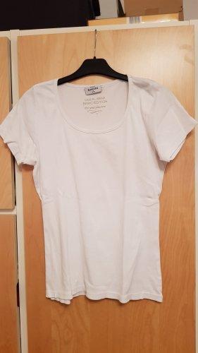 Weißes T-shirt Gr.36/38 (ist eher Gr.40/42)