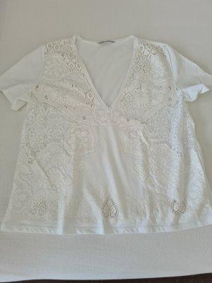 Weißes T-Shirt, Gr. M