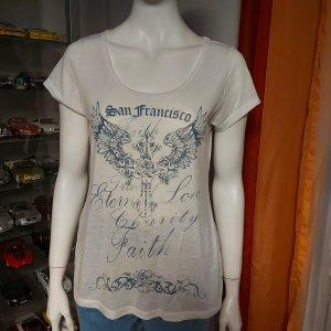 weißes T-Shirt Größe M