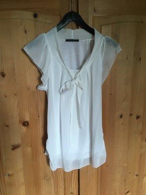weißes T-Shirt mit Schluppe (jennifer taylor,S)