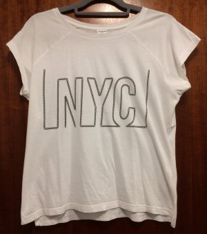 Weißes T-Shirt NYC