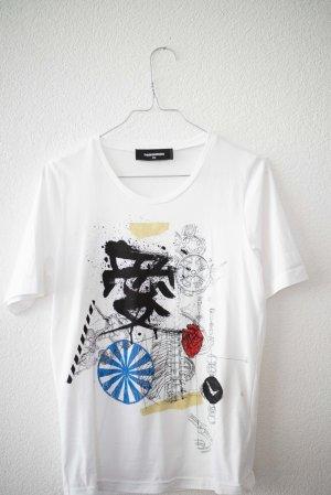 Dsquared2 Camicia fantasia bianco Cotone