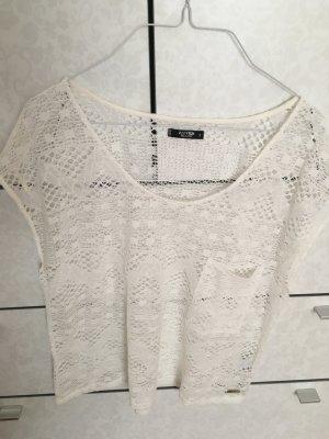 Weißes T-Shirt von Rusty