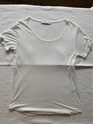 Weißes T-Shirt von Samsoe